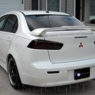 Mitsubishi Lancer Tinted Smoked Protection Overlays Film for Taillamps Taillights Tail Lamps Lights