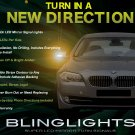 BMW 5 Series E34 E39 E60 E61 F10 F11 Mirrors LED Turnsignals Turn Signals Signalers Lights Lamps