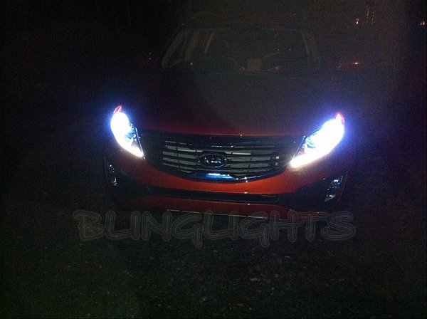 KIA Sportage Bright White Replacement Light Bulbs for Headlamps Headlights Head Lamps Lights