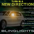 BMW 1 Series E81 E82 E87 E88 F20 Mirrors LED Turnsignals Turn Signals Signalers Lights Mirror Lamps