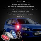 Chevrolet Chevy Aveo Aveo5 LED Side Markers Accents Turnsignals Turn Signals Signalers Lights Lamps