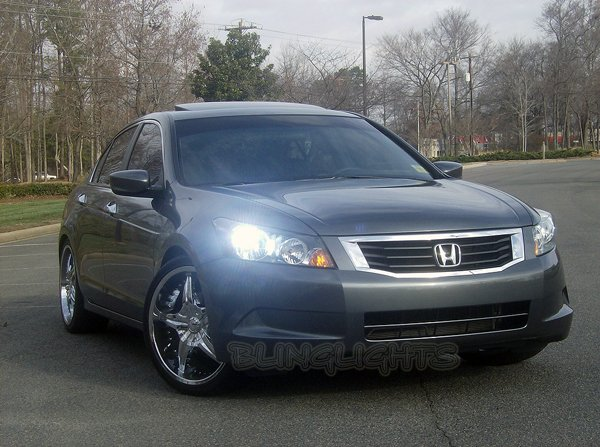 Honda Accord White Low Beam Replacement Light Bulbs for Headlamps Headlights Head Lamps Lights