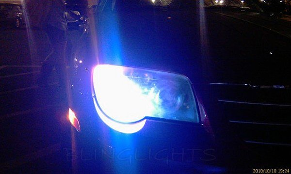 2004 2005 2006 2007 2008 Chrysler Crossfire Xenon 55 Watts HID Headlamps Headlights Conversion Kit