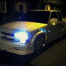 Chevrolet Chevy S-10 S10 White Replacement Low Beam Headlamps Headlights Head Lamps Light Bulbs