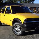 Chevrolet Chevy S-10 S10 Smoked Headlamps Headlights Head Lamps Lights Tinted Overlays Tint Film