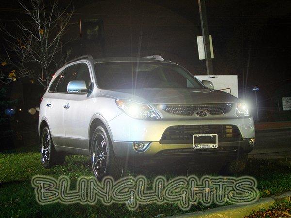 2007-2011 Hyundai Veracruz ix55 Bright White Light Bulbs for Headlamps Headlights Head Lamps Lights