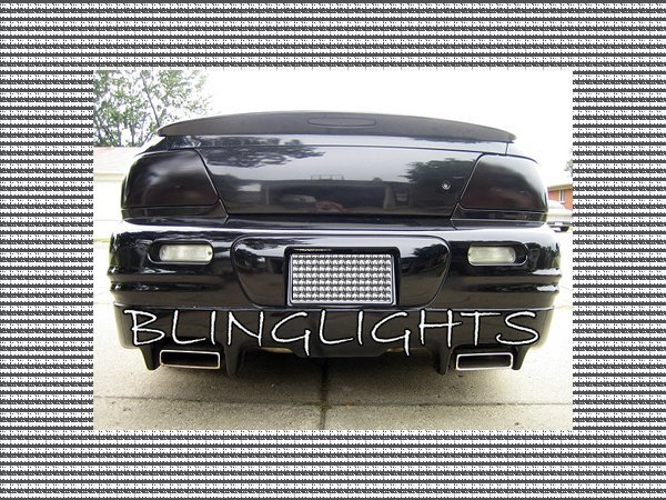 1995-2000 Dodge Stratus Tinted Smoked Taillamps Taillights Overlays Protection Film