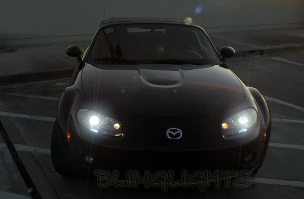 Mazda Miata MX-5 MX5 Replacement HID Bulbs for OEM Xenon Headlamps Headlights Head Lamps Lights