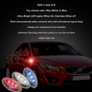 Volvo V50 LED Side Markers Turnsignals LEDs Turn Signals Signalers Accent Lights Blinkers Lamps