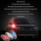 Saab 9-7X LED Side Markers Turnsignals Turn Signals Lights Signalers Lamps Accents Marker LEDs