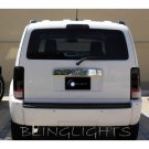 2007-2011 Dodge Nitro Tinted Smoked Taillamps Taillights Overlays Film Protection