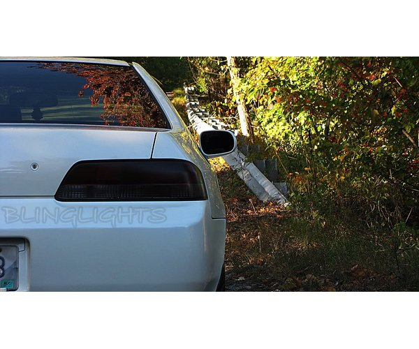 Honda Prelude Tinted Smoked Tail Lamps Lights Overlays Film Protection