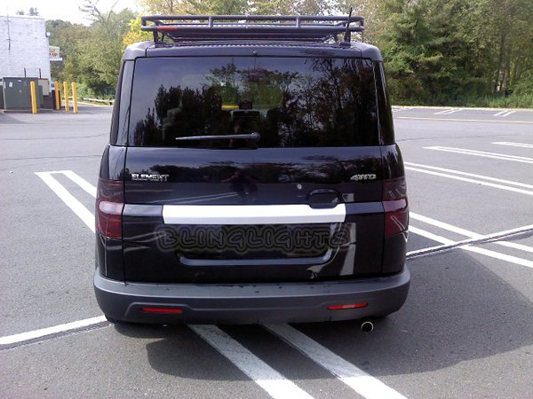 Honda Element Tinted Smoked Taillamps Taillights Overlays Film Protection
