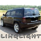 Jeep Patriot Tinted Smoked Taillamps Taillights Overlays Protection Film