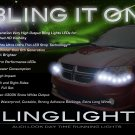Dodge Grand Caravan LED DRL Light Strips for Headlamps Headlights Head Lights Lamps LEDs DRLs
