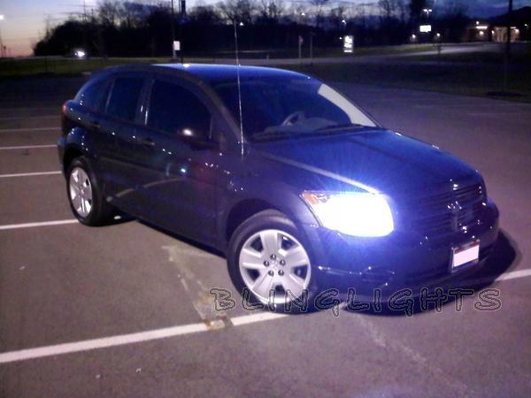2007-2011 Dodge Caliber Xenon Lights HID Headlamps Headlights Head Lamps Conversion Kit