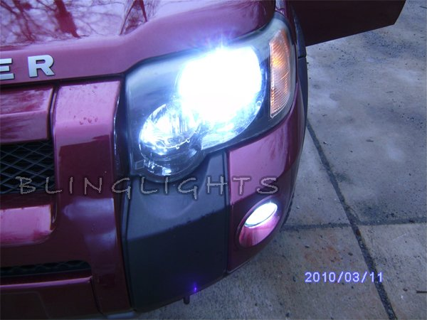 1997-2006 Land Rover Freelander Bright White Light Bulbs for Headlamps Headlights Head Lamps Lights