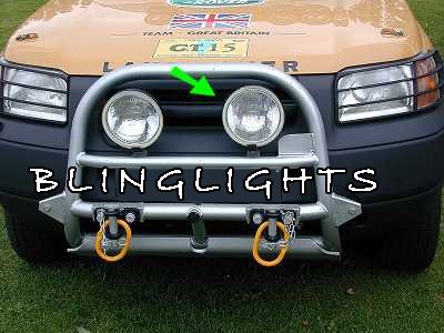 Land Rover Freelander Off Road Bumper Lamp Bar 2 Driving Lights