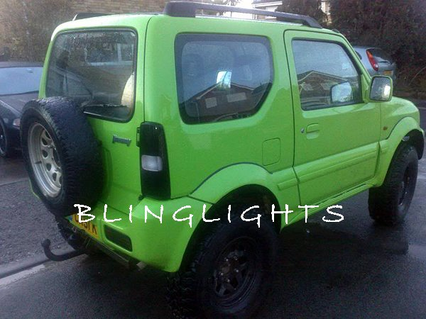 Suzuki Jimny Murdered Out Taillamp Tinted Overlays Taillight Film