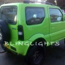 Suzuki Jimny Murdered Out Taillamp Tinted Overlays Taillight Film