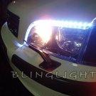 Volvo V40 LED DRL Strips for Headlamps Headlights Head Lights Day Time Running Strip Lights