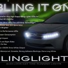 Honda Odyssey LED DRL Head Lights Strips Day Time Running Lamps Kit