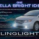 2011 2012 2013 Honda Odyssey Bumper Fog Lamp Kit