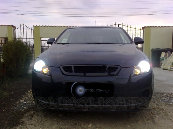 Kia Cee'd Ceed Bright White Replacement Light Bulbs for Headlamps Headlights Head Lamps Lights