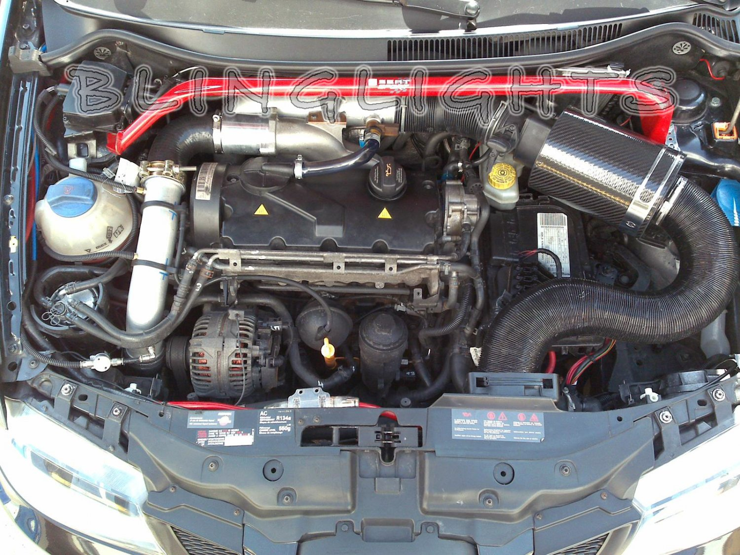 Seat I4 Tdi Engine Cold Air Motor Intake Ibiza Leon Altea