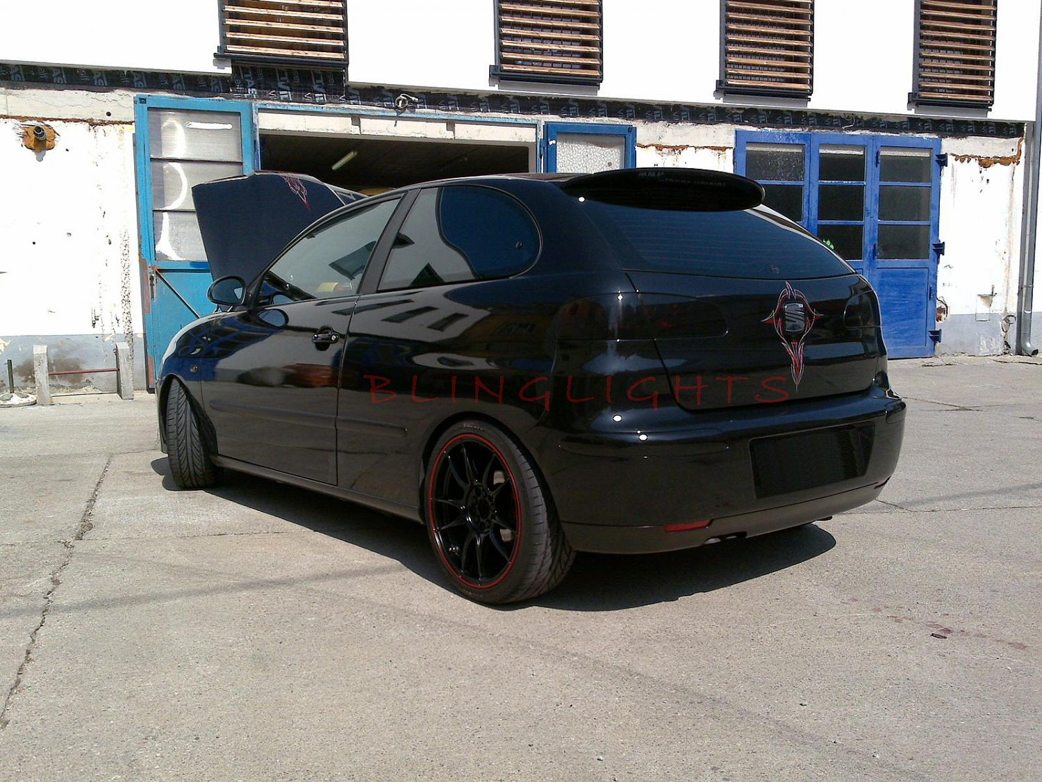 Seat Altea Tinted Smoked Taillamps Taillights Tail Lamps Lights Protection Overlays Film