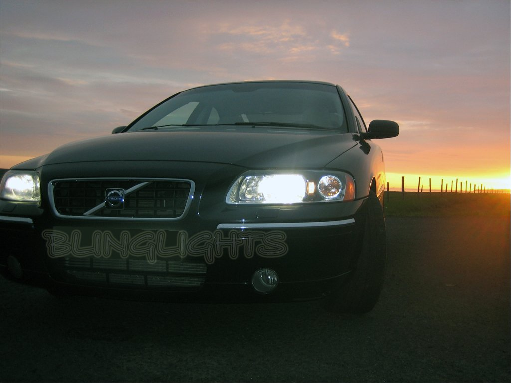 Volvo S60 V60 Bright White Upgrade Light Bulbs for Halogen Headlamps Headlights Head Lamps Lights