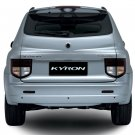 SsangYong Kyron Tinted Smoked Taillamps Taillights Tail Lamps Lights Protection Overlays Film