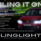 Volkswagen Touran LED Day Time Running Lights Strips Headlamps Headlights Head Lamps VW LEDs