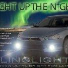 2008-2015 Mitsubishi Lancer Bumper Fog Lamps Driving Lights ACTiV DE ES SE GT GTS