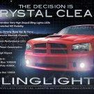 2005-2008 Dodge Magnum LED Drivinglights Foglamps Kit white blue