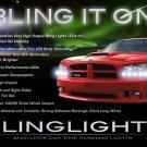 Dodge Magnum LED DRL Head Light Strips Day Time Running Lamp Kit