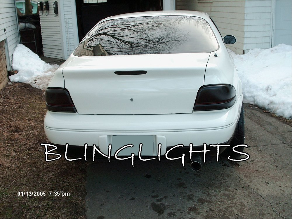 Chrysler Cirrus Tinted Smoked Taillamps Taillights Tail Lamps Lights Protection Overlays Film
