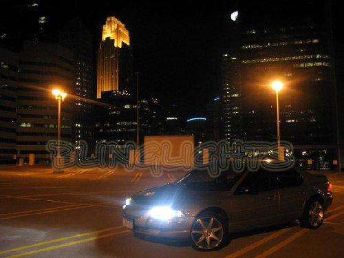 Chrysler Cirrus Bright White Light Bulbs for Headlamps Headlights Head Lamps Lights