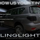 Nissan Patrol Safari P61 Y62 Tinted Protection Overlays for Taillamps Taillights Tail Lamps Lights