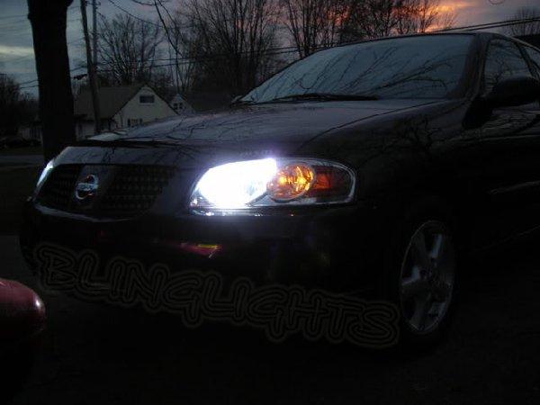 2000-2006 Nissan Sentra B15 Bright White Light Bulbs for Headlamps Headlights Head Lamps Lights