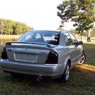Mazda Protege 323 Familia Tinted Smoked Taillamps Taillights Tail Lamps Lights Protection Overlays