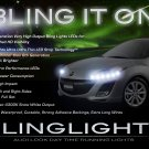 Mazda Protege5 Familia Protege 323 LED DRL Lights Strips Headlamps Headlights Head Lamps LEDs DRLs