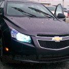 Chevrolet Chevy Cruze White Replacement Light Bulbs for Headlamps Headlights Head Lamps Lights