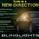 Mitsubishi Galant LED Side Mirror Turnsignals LEDs Mirrors Turn Signals Lights Signalers Lamps