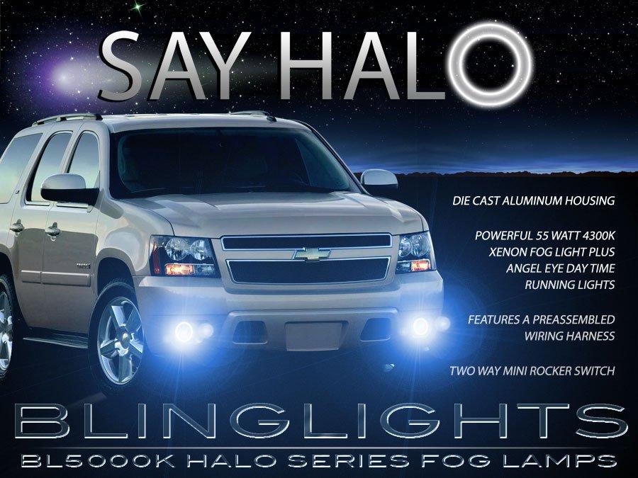 2007-2014 GMC Yukon Angel Eye Fog Lamps Driving Lights Kit GMT900