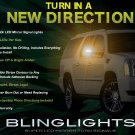 Cadillac Escalade LED Side View Mirror Turnsignals Lights Turn Signals Lamps Mirrors Signalers LEDs