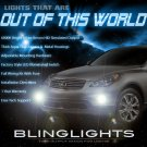 2008 2009 2010 2011 Infiniti EX35 Xenon Foglamps Foglights Driving Fog Lamps Lights Kit