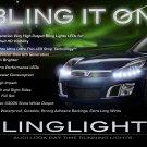 2007 2008 2009 Saturn Sky LED DRL Strip Lights Headlamps LEDs Headlights DRLs Head Light Strips