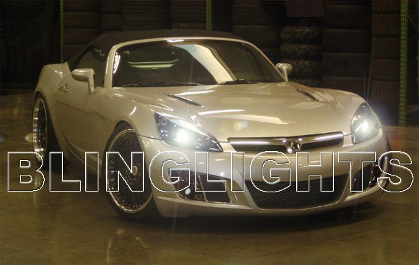 2007 2008 2009 Saturn Sky Bright White Light Bulbs for Headlamps Headlights Head Lamps Lights