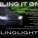 Toyota Tundra LED DRL Head Light Strips Day Time Running Lamps Kit